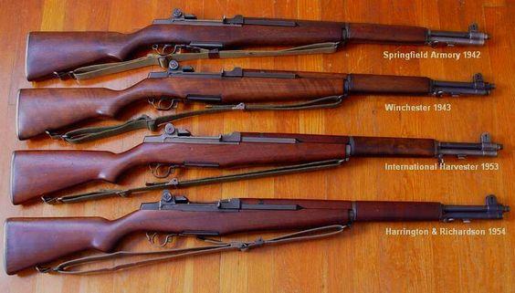 M1 Garand from 1942-54 | Battle Rifles | Pinterest | Beauty, M1 garand ...