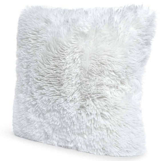 high pile fur pillow | Five Below