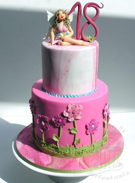 Märchen und Feen - nicht nur für kleine Mädchen ein Thema für eine Geburtstagstorte