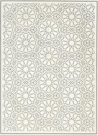 coloring pages islamic patterns drawing - photo#11