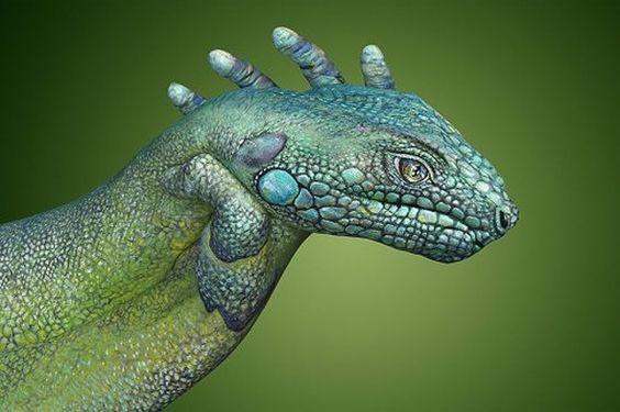 My new pet iguana
