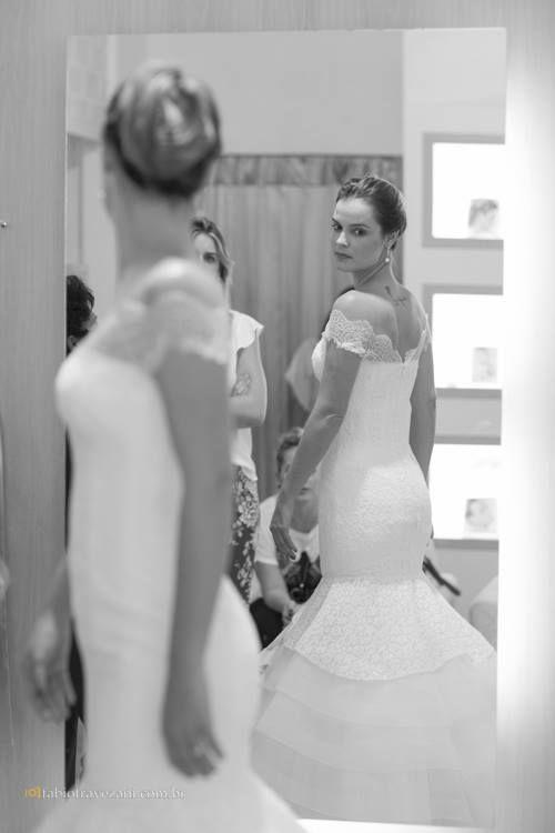 O Sonho de usar 2 Vestidos de Noiva - Peguei o Bouquet