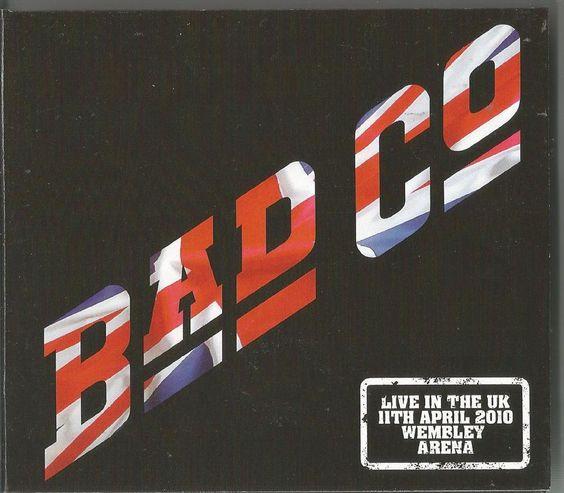 BAD COMPANY - Live At Wembley Arena 2010 CD x2