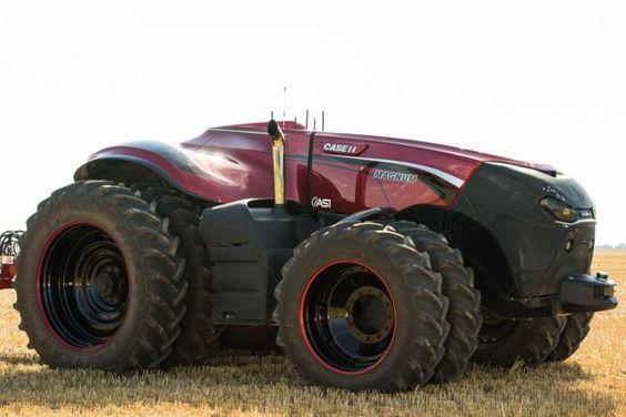 Los tractores-robot y los pastores-dron llegan a las granjas