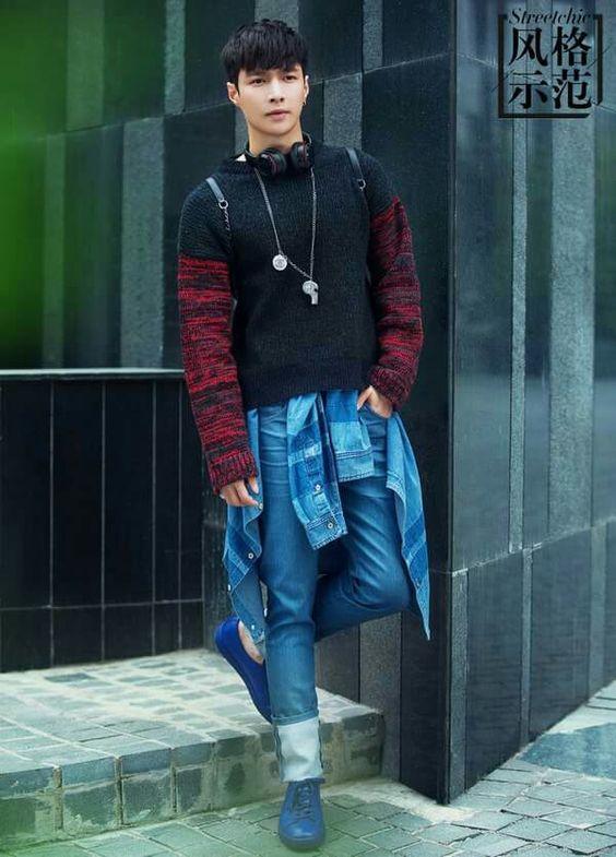 EXO   EXO-M   Zhang Yixing (lay)   150715 - Sohu Fashion Shoot   Facebook