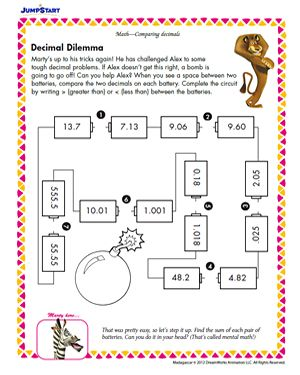 Printables Enrichment Math Worksheets decimal on pinterest free enrichment worksheetsactivities for 5th grade