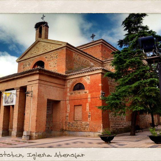 Foto del día, lateral Iglesia  en #Abenojar