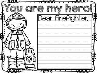 math worksheet : free fire safety week printables!  kinderland collaborative  : Firefighter Worksheets For Kindergarten