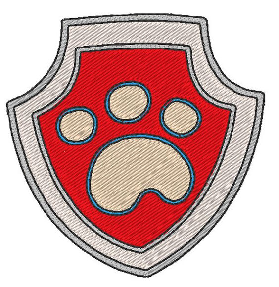 pat 39 patrouille badge ryder motif de broderie par jolikrea. Black Bedroom Furniture Sets. Home Design Ideas