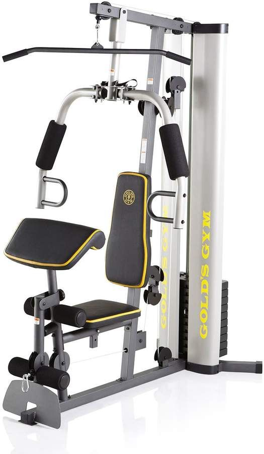 Gold S Gym Xrs 55 Home Gym No Equipment Workout Golds Gym At Home Gym
