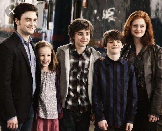 Familie Potter Harry Potter Love Lily Potter Ginny Weasley