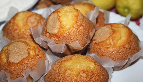 Magdalenas caseras con canela y limón