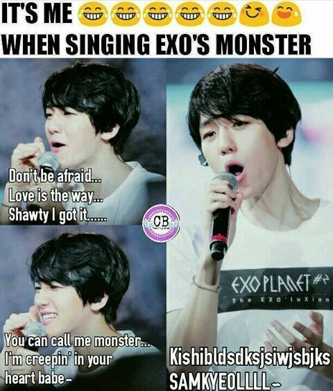 Memes With Images Exo Funny Exo Kpop Exo