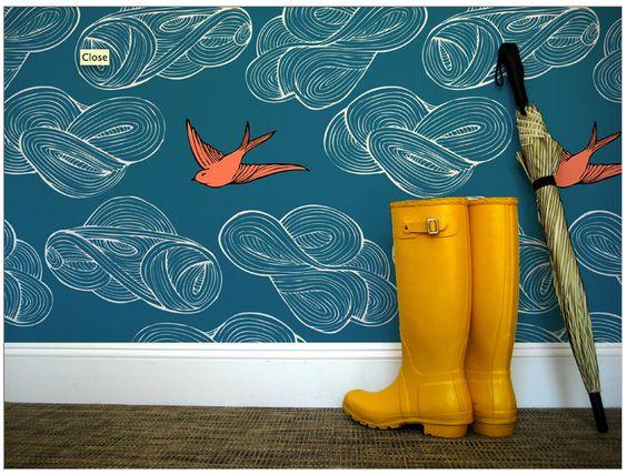 Beautifully colorful wallpaper