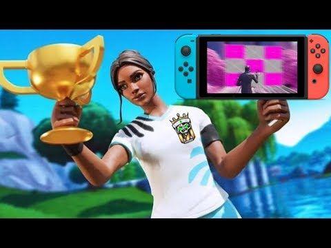 Best Nintendo Switch Fortnite Player Youtube Fortnite Thumbnail Nintendo Switch Gamer Pics