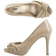 Nude pumps...these are sooo comfortable too!