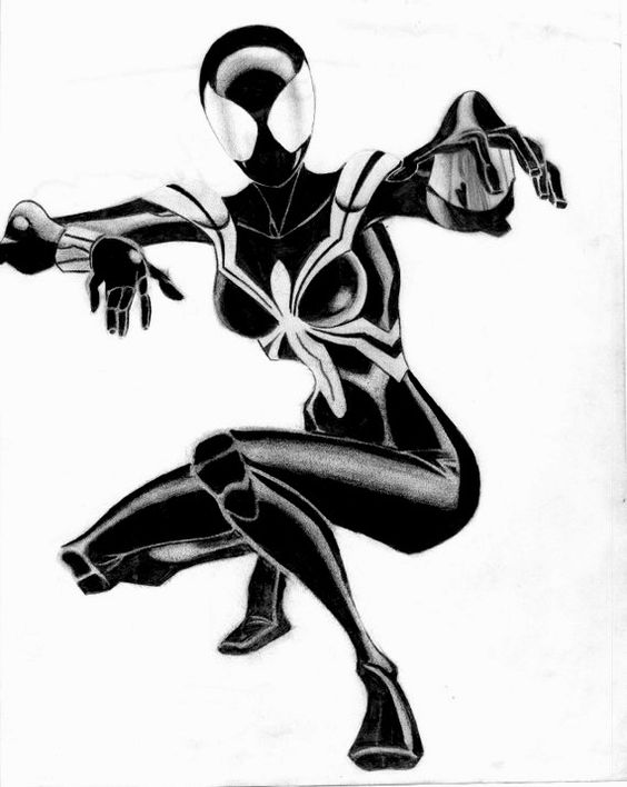 Spider Girl Black Costume