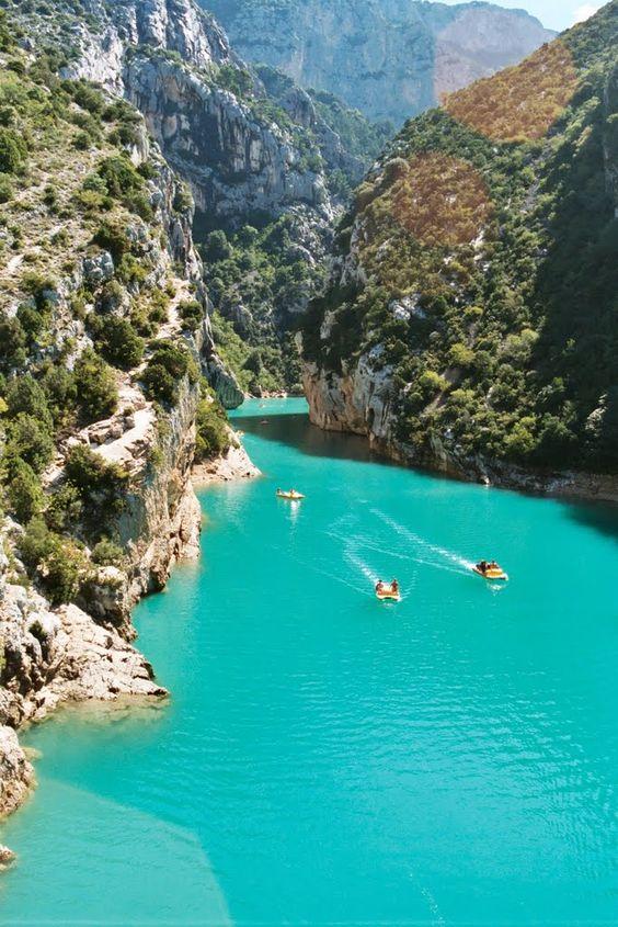 Le lac de Saint croix, Alpes-de-Haute-Provence, gorges du Verdon