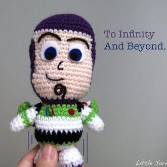 Patron Buzz Lightyear para descargar Tejido!!! Pinterest Buzz lightyear...