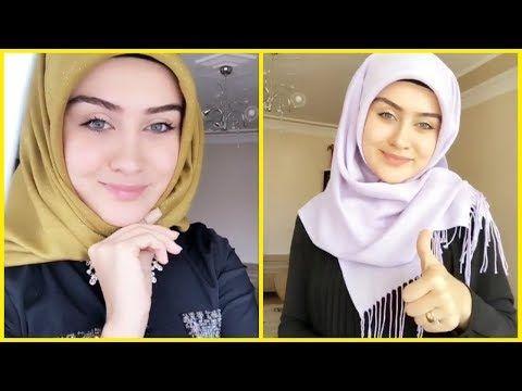 لفات حجاب للدخول المدرسي 2020 الجزء الثالث Youtube Scarf Styles Hijab Style