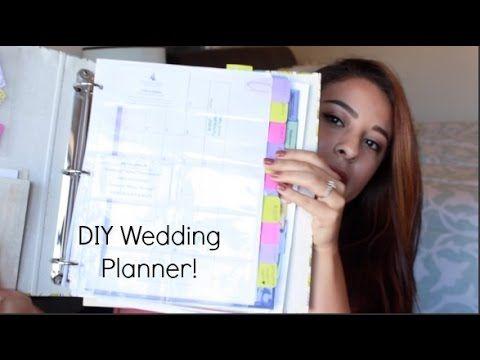 Diy Wedding Planning Binder Wedding Planning Youtube