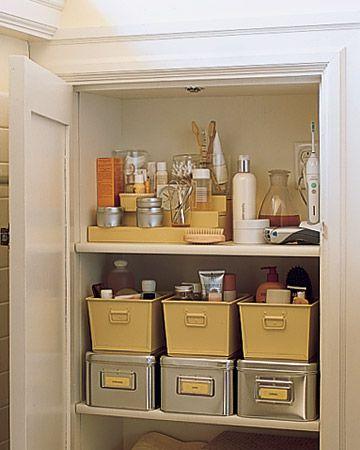 Closet organization, Linen closets and on Pinterest