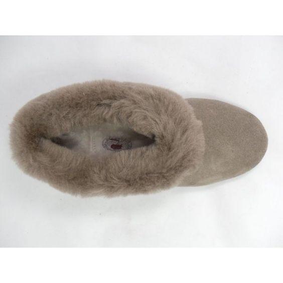 Sheepskin Slippers | ... Ladies Slippers › Drapers › Drapers Ladies Sheepskin Slippers