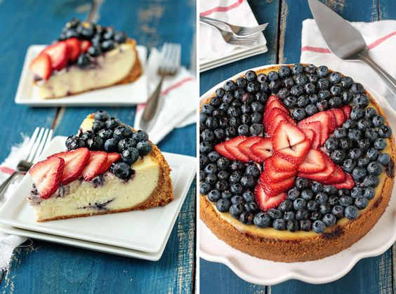Make a Star Cheesecake on the 4th.