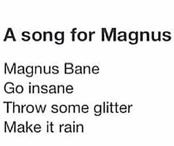 Magnus Bane // The Mortal Instruments // TMI