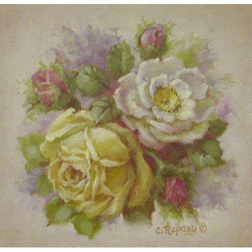 Buy Yellow Rose Print : Wall Art at Plaid Parasol