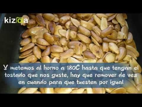 Como Pelar Y Tostar Almendras Almendras Tostadas Videos De Recetas
