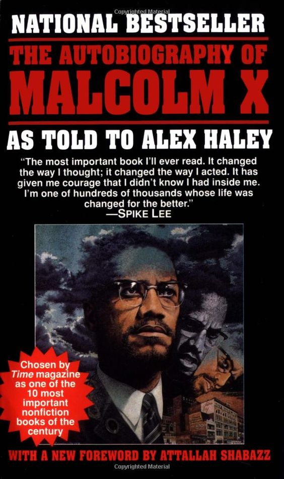 Must Read Book About A True American Hero: Malcolm X #malcolmx #mxday