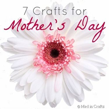 7 Handmade Gifts for Mom - Mad in Crafts