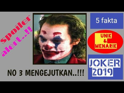 Joker 2019 5 Fakta Unik Dan Menarik Film Joker Youtube Film