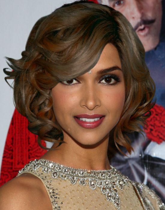 Deepika Padukone Hairstyle Short Medium Long Wavy Curly Straight