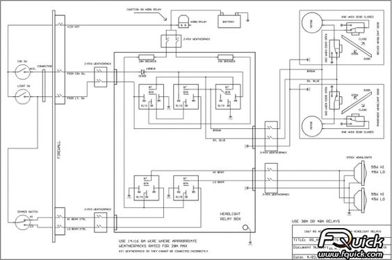 1967 Camaro Headlight Wiring Diagram : 36 Wiring Diagram