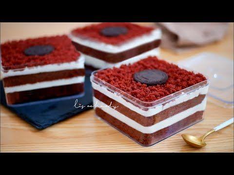 No Telur No Mixer Bisa Di Kukus Takaran Sendok Dessert Box Red Velvet Ide Jualan Youtube Makanan Manis Makanan Ringan Manis Makanan Penutup Mini