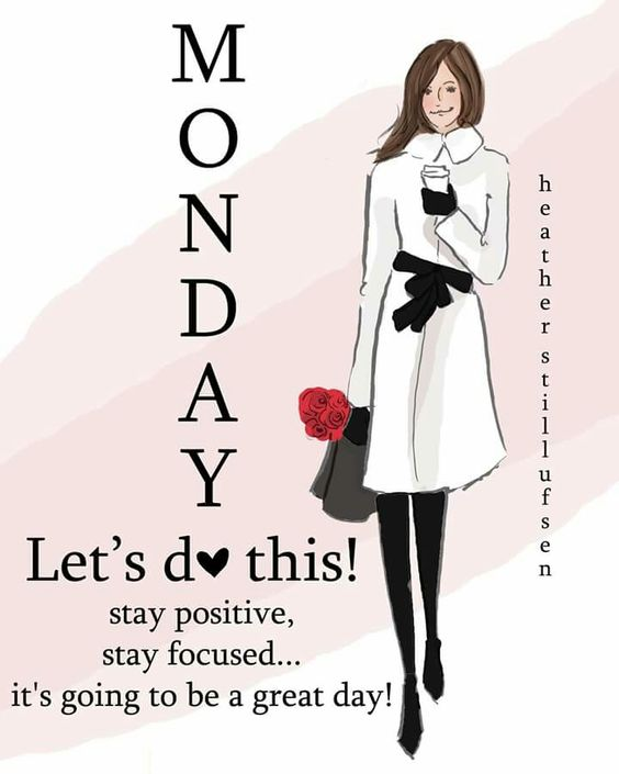 It's Monday! Let's do this!