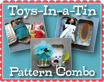 Merry & Bright PDF Pattern Combo by mmmcrafts on Etsy