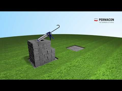 Weekend Project Installation Guide Bench Townsend From Permacon Permacon Mypermaconproject Backyard Diy Projects Diy Backyard Backyard Projects