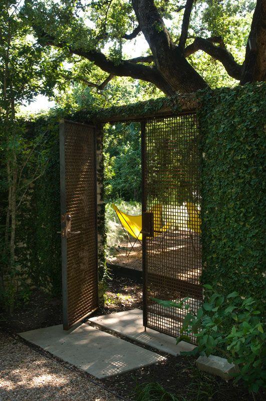 Modern Garden Gate Fences And Gates Pinterest