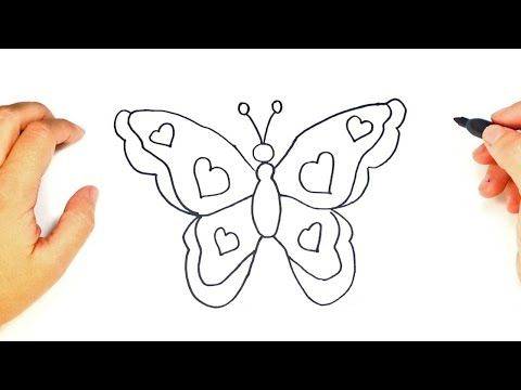 How To Draw Butterflies Butterfly Drawing Butterfly Painting Drawings
