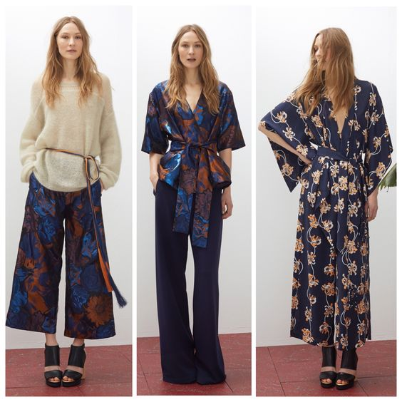 Oriental looks at Rodebjer Cruise/Resort 2016