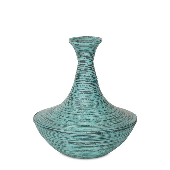 by Textured Arts & Accents  Bathurst Painted Bamboo Vase