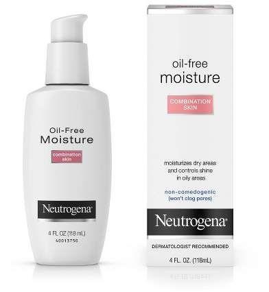 Neutrogena Oil Free Face Neck Moisturizer For Combination Skin 4 Fl Oz In 2020 Moisturizer For Combination Skin Neutrogena Oil Free Moisturizer Neutrogena Oil