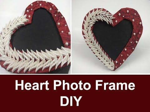 Handmade Heart Photo Frame