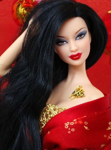 Asian dolls or barbies