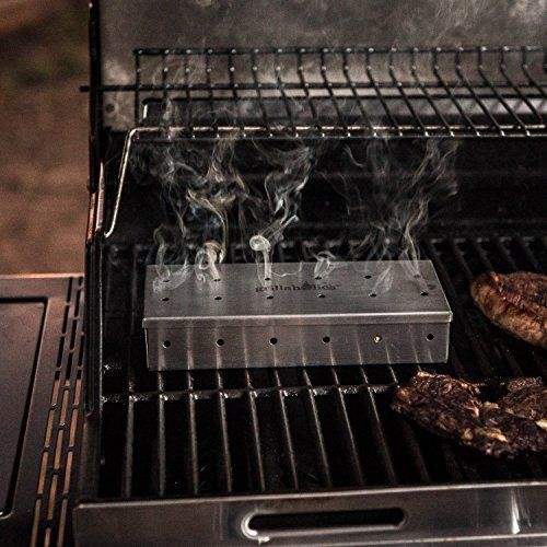 The Easiest Way To Add A Deep Smokey Flavor To Food When You Re Using A Charcoal Or Gas Grill Is To Us Wood Chip Smoker Grilling Recipes Gas And Charcoal Grill