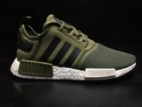 High Quality Men Adidas Originals NMD R1 Military Green