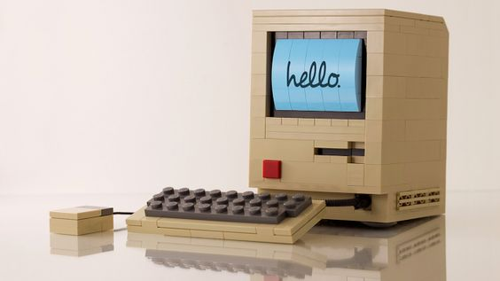 The Most Perfect Lego Recreation of the Original Macintosh Humanly Possible
